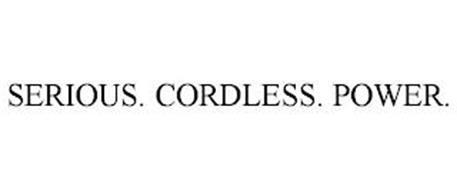 SERIOUS. CORDLESS. POWER.