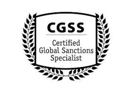 CGSS CERTIFIED GLOBAL SANCTIONS SPECIALIST