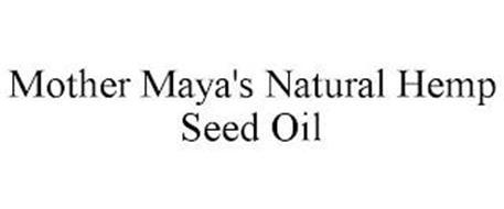 MOTHER MAYA'S NATURAL HEMP SEED OIL