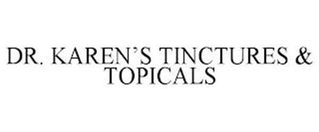 DR. KAREN'S TINCTURES & TOPICALS