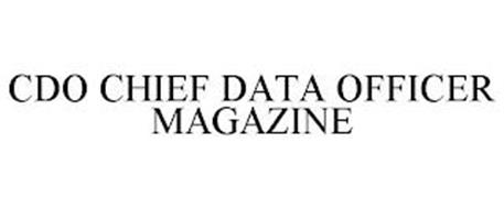 CDO CHIEF DATA OFFICER MAGAZINE