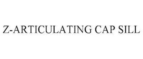 Z-ARTICULATING CAP SILL