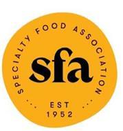 SFA SPECIALTY FOOD ASSOCIATION EST 1952