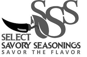 SSS SELECT SAVORY SEASONINGS SAVOR THE FLAVOR