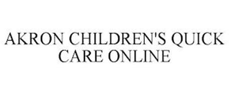 AKRON CHILDREN'S QUICK CARE ONLINE