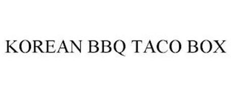 KOREAN BBQ TACO BOX