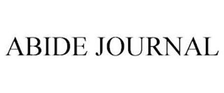 ABIDE JOURNAL