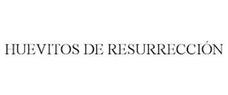 HUEVITOS DE RESURRECCIÓN