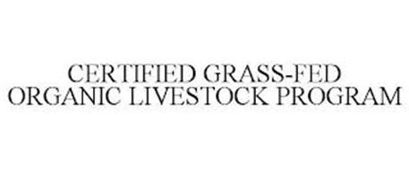 CERTIFIED GRASS-FED ORGANIC LIVESTOCK PROGRAM