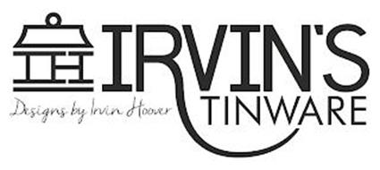 IH IRVIN'S TINWARE DESIGNS BY IRVIN HOOVER