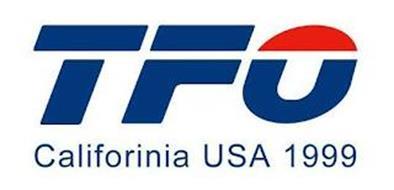 TFO CALIFORINIA USA 1999