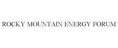 ROCKY MOUNTAIN ENERGY FORUM