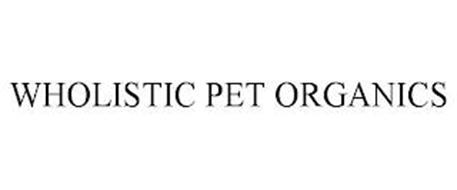 WHOLISTIC PET ORGANICS