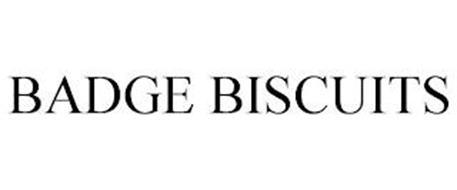 BADGE BISCUITS