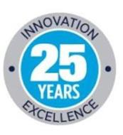 25 YEARS INNOVATION EXCELLENCE