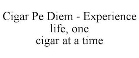 CIGAR PE DIEM - EXPERIENCE LIFE, ONE CIGAR AT A TIME