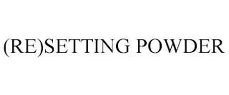 (RE)SETTING POWDER