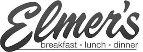 ELMER'S BREAKFAST · LUNCH  · DINNER