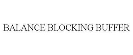 BALANCE BLOCKING BUFFER