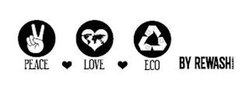 PEACE LOVE ECO BY REWASH