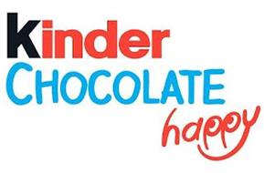 KINDER CHOCOLATE HAPPY