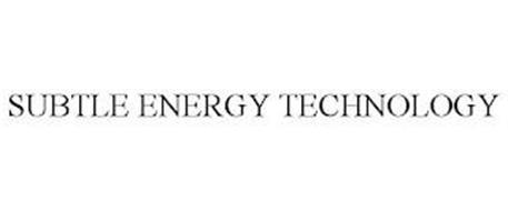 SUBTLE ENERGY TECHNOLOGY