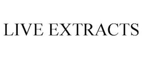LIVE EXTRACTS