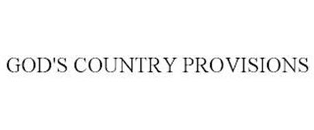GOD'S COUNTRY PROVISIONS