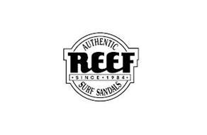 AUTHENTIC REEF SINCE 1984 SURF SANDALS
