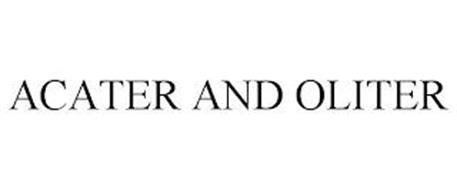 ACATER AND OLITER