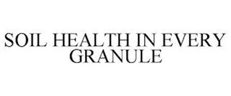 SOIL HEALTH IN EVERY GRANULE
