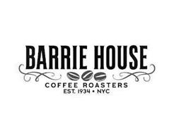 BARRIE HOUSE COFFEE ROASTERS EST. 1934 NYC