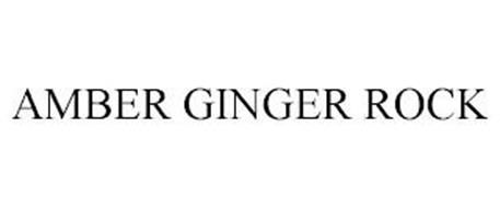 AMBER GINGER ROCK
