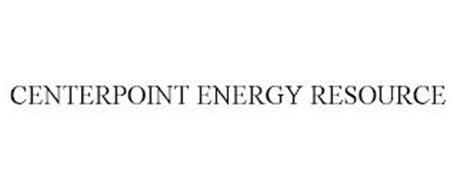 CENTERPOINT ENERGY RESOURCE
