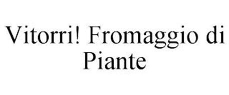 VITORRI! FROMAGGIO DI PIANTE