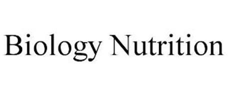 BIOLOGY NUTRITION