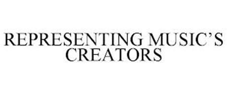 REPRESENTING MUSIC'S CREATORS