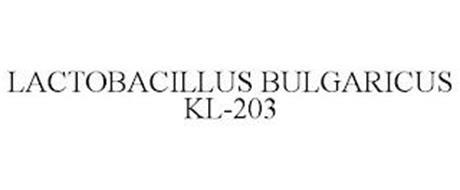 LACTOBACILLUS BULGARICUS KL-203