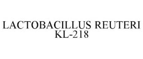 LACTOBACILLUS REUTERI KL-218