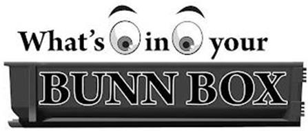 WHAT'S IN YOUR BUNN BOX