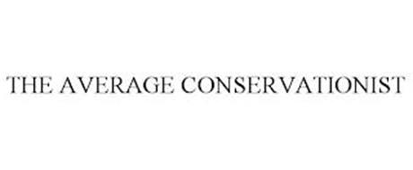 THE AVERAGE CONSERVATIONIST