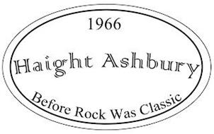 1966 HAIGHT ASHBURY BEFORE ROCK WAS CLASSIC