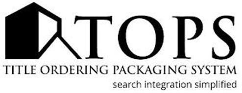 TOPS TITLE ORDERING PACKAGING SYSTEM SEARCH INTEGRATION SIMPLIFIED