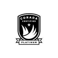 CORADA CERTIFIED PLATINUM