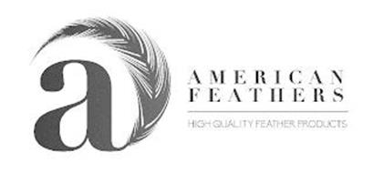 A AMERICAN FEATHERS HIGH QUALITY FEATHER PRODUCTS