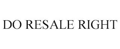 DO RESALE RIGHT