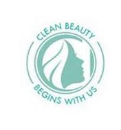CLEAN BEAUTY BEGINS WITH US