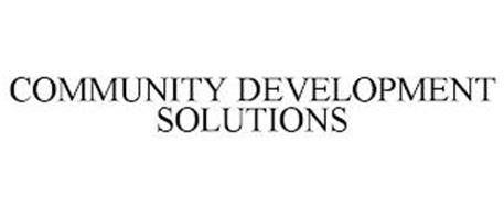 COMMUNITY DEVELOPMENT SOLUTIONS