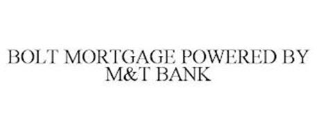 BOLT MORTGAGE POWERED BY M&T BANK
