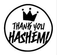 THANK YOU HASHEM!